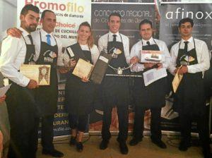Foto participantes con premios