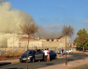 Incendio Aljaraque