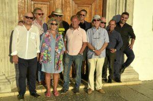 Poetas del Guadiana. foto de familia.