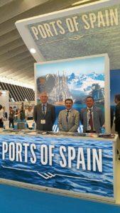 Puerto de Huelva en Seatrade Cruise Med enerife16