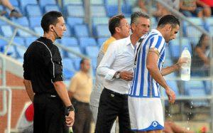 Alejandro Ceballos, dando instrucciones a Núñez.