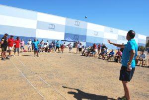 Torneo de petanca en Isla Cristina.