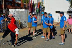 Copa Andalucía de petanca en Isla Cristina.