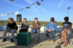 mesa redonda sobre las editoras del Algarve.