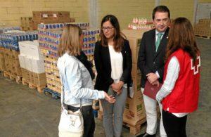 20161021 Subdelegado visita reparto alimentos FEGA Curz Roja