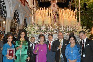 24 sept -Tras colocacion de medalla del ayto a Virden de los Dolores