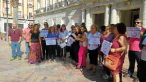 Concentracion MDM Huelva 7 octubre 2016