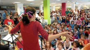 Cuentacuentos biblioteca Huelva