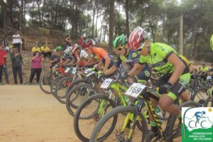 Rally BTT en Montemayor.