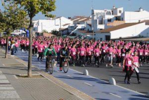 Carrera de la Mujer en Valverde del Camino.