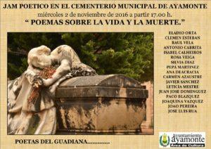 JAM POETICO EN EL CEMENTERIO 10. 2016