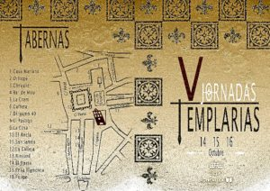 Jornadas templarias mapa