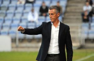 Alejandro Ceballos, técnico albiazul.