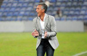 Alejandro Ceballos, técnico del Recreativo de Huelva.