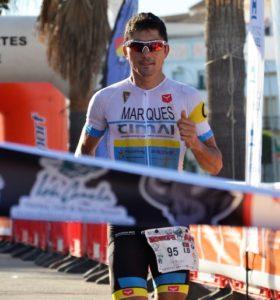 Sergio Marqués, vencedor del Iberman.