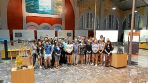 Visita estudiantes Glasgow University Puerto de Huelva
