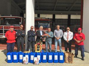 acuerdo consorcio bomberos con portugal zona sierra