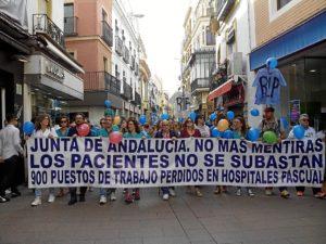 manifestacion trabajadores empresas pascual en sevilla (1)