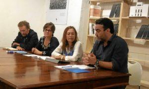 mesa redonda poesia y escuela. Con Poetas del  GUAdiana.