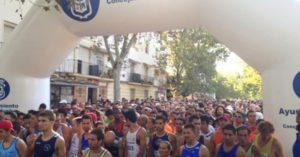 Salida de la XXX Vuelta a Huelva.