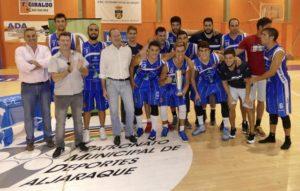 CB San Juan, campeón del Trofeo Diputación de baloncesto masculino.