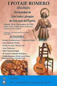 161118 Cartel I Potaje Romero