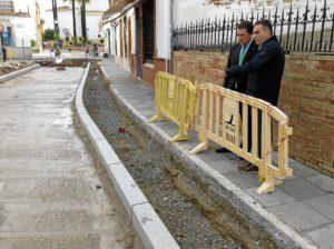 20161121 Visita obras PROFEA La Palma en calle Real