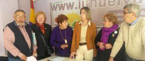 Asociacion de Amigos del Museo con concejales IU Ayto Huelva