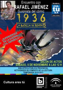 CARTEL 1936 BATALLA MADRID
