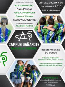 Campus de fútbol Gañafote.
