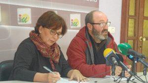 Carmen Lucena y Pedro Jimenez