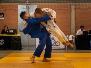 Fran Gil, judoca del Huelva TSV.