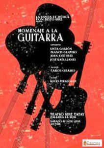Homenaje a la guitarra zalamea