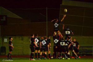 Jugadores del Instituto Británico de rugby.