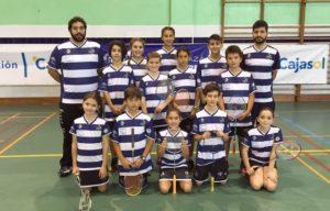 Equipo de Liga Andaluza del Recreativo IES La Orden.