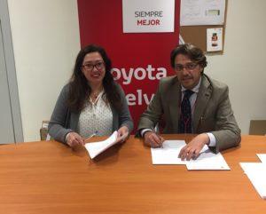 Convenio entre Toyoya y Fundación Cajasol Sporting.