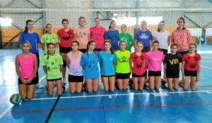 Selección Andaluza de voleibol femenino.