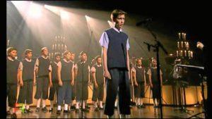 Los Chicos del Coro en una de sus actuaciones