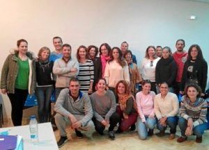 Participantes Escuela de Familias en Gota de Leche
