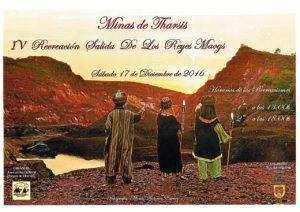 cartel anunciador iv recreaccion reyes magos