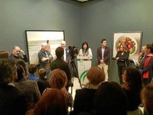 exposicion cazorla en el museo de huelva