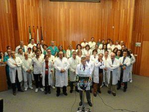 jefes de servicio del complejo hospitalario
