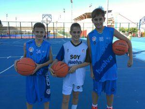 jugadores del CB La Palma que van a la seleccion andaluza