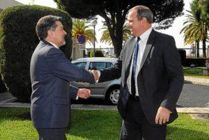 presidente APH y embajador Cuba