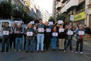 protesta ugt por accidente laboral