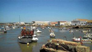 Puerto pesquero de Isla Cristina.