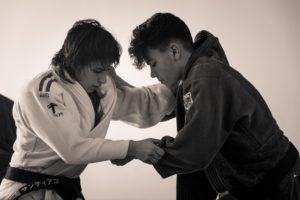 Cinta García, judoca onubense.