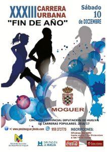 Cartel Carrera Moguer