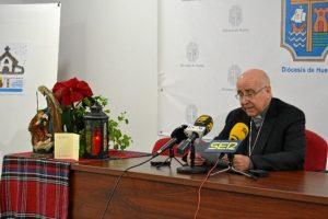 Lectura mensaje de Navidad por parte del obispo de Huelva (1)