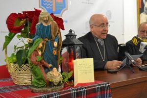 Lectura mensaje de Navidad por parte del obispo de Huelva (2)
